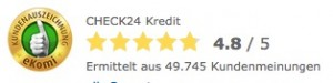 Check24 Kredit Erfahrungen - Finanzcheck24