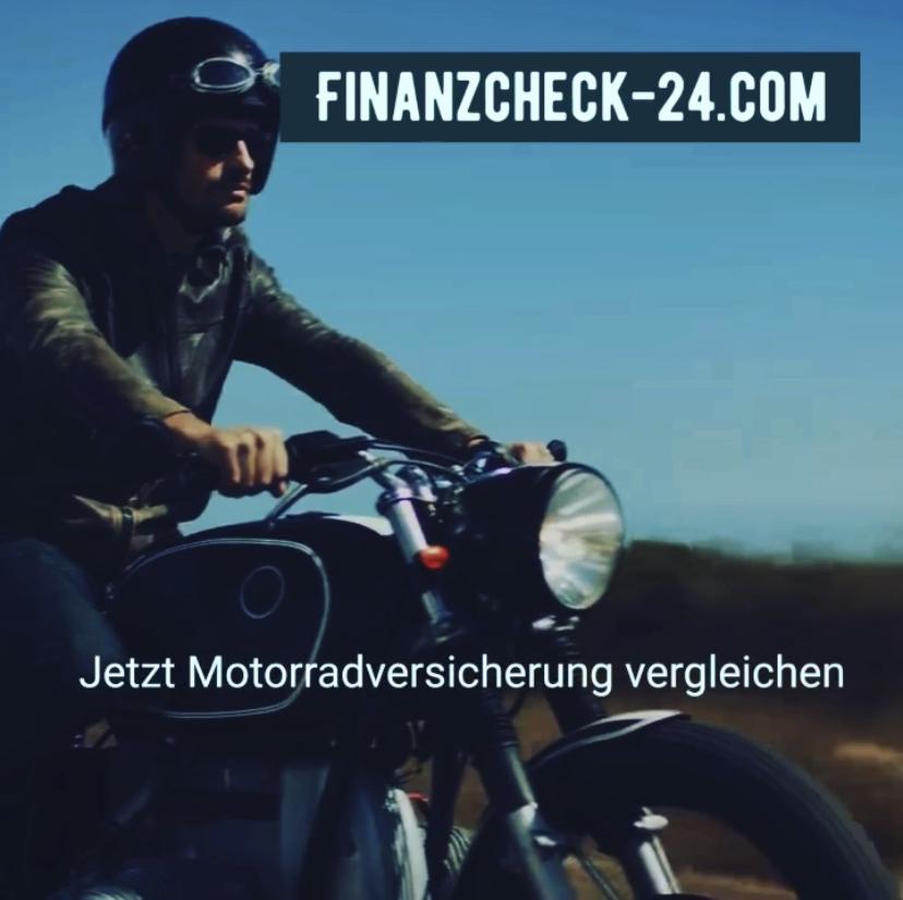 Motorrad Versicherung vergleichen
