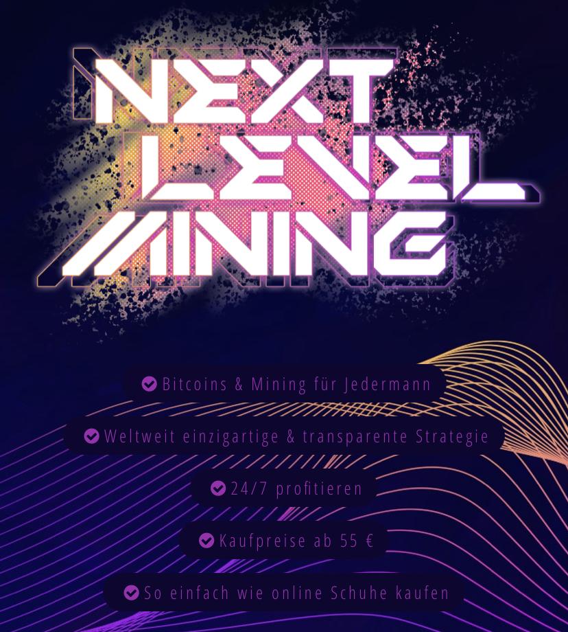 Next Level Mining Strategie SmartIT Shop - Bitcoin und Bitcoin Mining